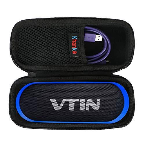 Khanka EVA Duro Caso Bolso Funda Estuche para VTIN R4/R2 Altavoz Bluetooth Portátiles.(Solo Caja)