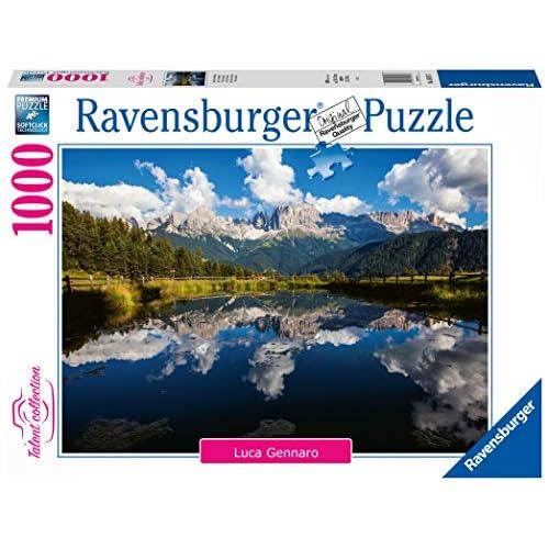 Ravensburger Puzzle, Puzzle 1000 Pezzi, Vita in Montagna, Puzzle per Adulti, Talent Collection, Puzzle Paesaggi, Puzzle Ravensburger - Stampa di Alta Qualità