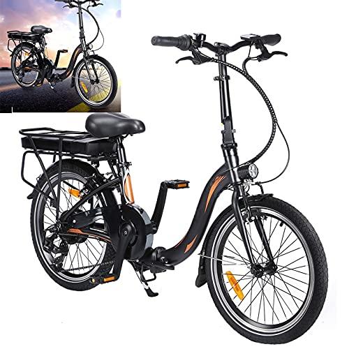 Bicicleta eléctrica Conduce a una Velocidad máxima de 25 km/h. Bicicleas Capacidad...