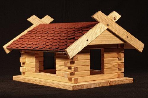 Vogelhaus Bausatz (Groß) - Rot