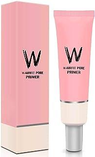 Pore Primer Face Makeup Primer, Pink Isolation Cream Invisible Pore, Big Cover Acne Marks, Smooth Skin, Oil Control Moisturizing Essence Concealer Foundation