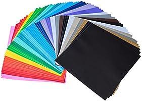 iImagine Vinyl 72-Sheets of Premium Permanent Self Adhesive Vinyl Sheets, 30.5cm x 30.5cm