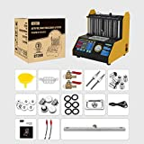 AUTOOL CT-200 Automotive 6 Cylinder Ultrasonic Wave Fuel Injector Cleaner and Tester Automotive Fuel Cleaning Tools 110V/220V