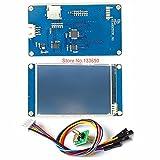 IGOSAIT 2.4 2.8 3.2 3.5 Pulgadas Nextion HMI Inteligente Smart USART UART SPI TOUCT TFT TFT LCD Módulo de Pantalla para Raspberry Pi 2 A + B + Mega (Color : Nextion 3.5 Inch HMI)