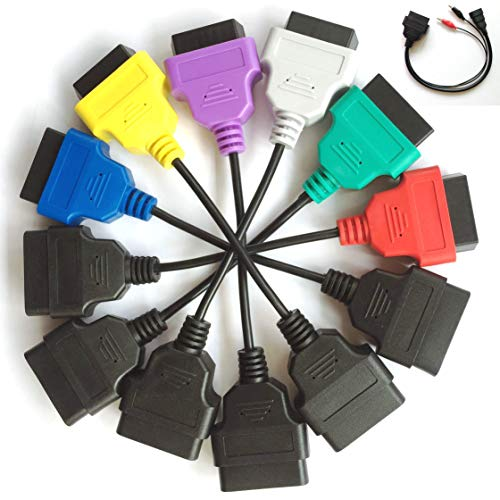 OBD Adaptateur Câble Kit A1 A2 A3 A4 A5 A6 OBD2 3pin Diagnostic Câble pour Italie Série Voitures 'Diagnostic Connect