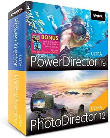 Cyberlink PowerDirector 19 Ultra PhotoDirector 12 Ultra Video Photo Editing product image