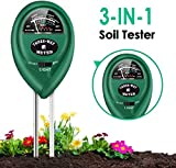 4. PentaBeauty Soil Test Kit, 3-in-1 Soil Tester with Moisture,Light and PH Test for Garden, Farm, Lawn, Indoor & Outdoor, Soil Moisture Meter, Soil Water Monitor