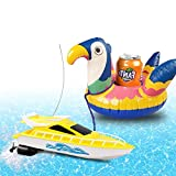 Remote Control Inflatable Floating Drinking Holders, Drink Transfer Floats Inflatable Cup Coasters for Kids Toys and Pool Party