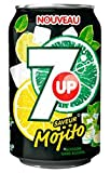 7up Mojito 33cl (lot de 3 packs de 24 soit 72 canettes)