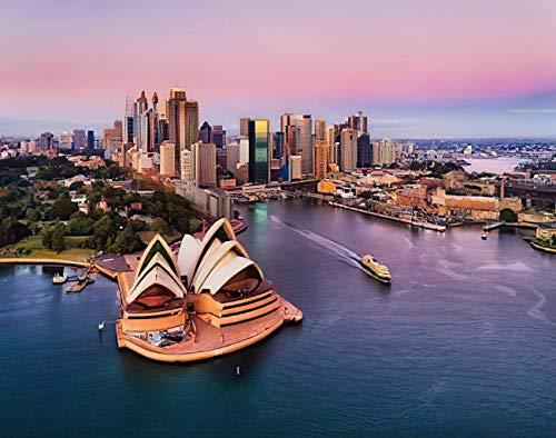 Y·JIANG Sydney Skyline Malen nach...