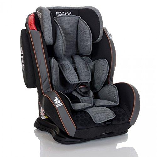 LCP Kids GT Auto Kindersitz 9-36 kg Liegefunktion SPS Seitenschutz System Schwarz