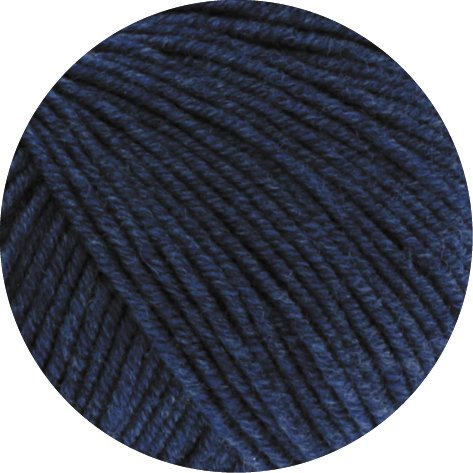 Lana Grossa 50 g Cool Wool Melange Merino Superfein, Fb. 490 jeans, Wolle, Strickgarn