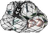 hummel 40-918-2250 - Rete per palloni, Taglia Unica, Colore Nero/Argento...
