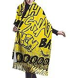 Nifdhkw Arte de patrón de Bufanda para Mujer Chales de pashmi de Gran Tacto Suave Envuelve la Estola Ligera