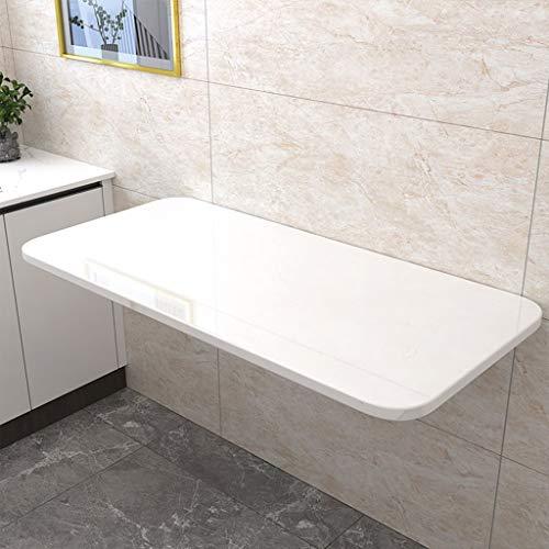 WWXX Klappbarer Wandtisch aus Holz mit integriertem Wandtisch Integrierter Wandtisch mit Klapptisch, Küche, Wohnzimmer, Schlafzimmer, Büro Kleiner Küchentisch mit Büro