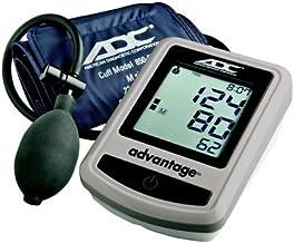 ADC Advantage 6012N Semi-Automatic Digital Blood Pressure Monitor with Storage Case, Adult BP Cuff, Navy