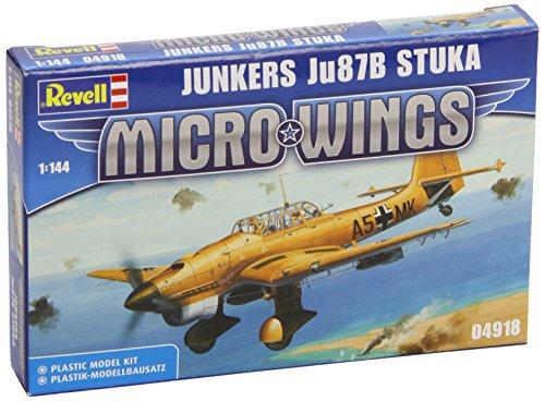 04918 - Revell - Junkers Ju 87B Stuka, 22 Teile