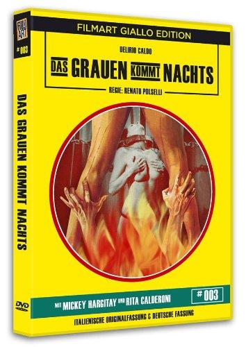 Das Grauen kommt Nachts - Filmart Giallo - 1 x DVD