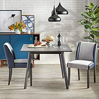 angelo:HOME Dining Table 3-Piece Set - Grayson (grey)