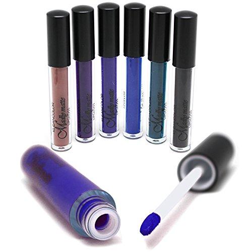 Set of 6 Colors Madly MATTE Lipgloss LG 1811~1818 Matte Lipgloss Set (LG 1816)