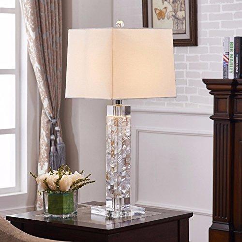 CJSHV-Tischlampe Muscheln Lampe Crystal Amerikanischen Modernen Minimalistischen Im Wohn - Und Schlafzimmer Mit Lampe,Ganz Unten