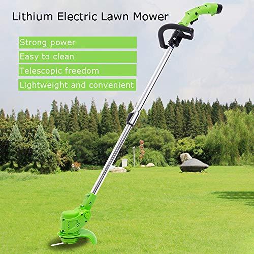Elektrische Grasmaaier Strimmer, Telescopische Lichtgewicht Krachtig Gazontrimmer, Draagbare Handheld Grass Cutter Grasmaaier Voor Green Work Home Garden