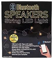 ジェニアル(GÉNIAL) ブルートゥース スピーカー ストリング LED ライト 263586