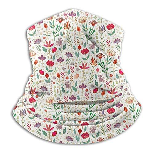 GWrix halsmanchet, ronde schaal, halsdoeken, slangenschaal, naadloze halsdoek, Turkse tulpen slangmuts, gezichtswarmer, voor stof, halswarmer, sport hoofddoek