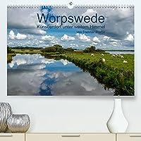 Worpswede - Kuenstlerdorf unter weitem Himmel (Premium, hochwertiger DIN A2 Wandkalender 2022, Kunstdruck in Hochglanz): Worpswede, das Kuenstlerdorf mit dem endlos weiten Himmel (Monatskalender, 14 Seiten )