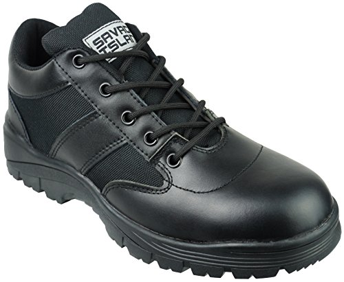 Savage Island Zapatos de Patrulla de Combate de Piel