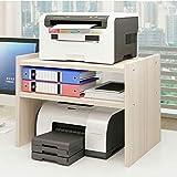Office Supplies Support de Bureau Tablette de Bureau Double Couche Stockage Étagère...