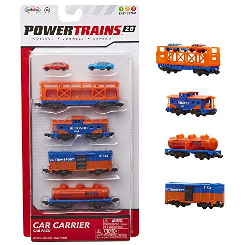 Power Trains Car Pack Series 2, Set of 4 Train Cars, (Model: 97511)