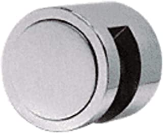 CRL Brushed Stainless Edge Grip for 3/8