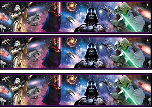 Fondant Tortenband Tortenbild Geburtstag Star Wars TB3