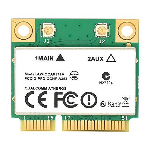 Tarjeta adaptadora de Red PCI-E, Tarjeta WiFi inalámbrica...