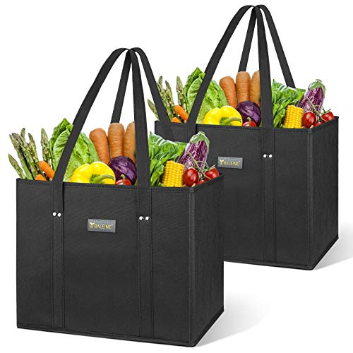 BALEINE 2 Pack Reusable Grocery Bags Only $9.99 (Retail $19.99)