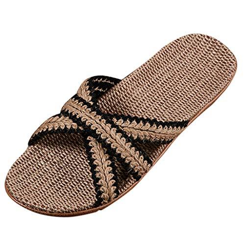 Lightweight Women/Men's Slip On Slippers Non-Slip Shower Sandals House Pool Shoes Bathroom Slide Water Shoes Black