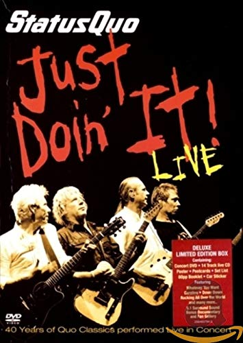 Just doin' it (Limited Edition) (DVD+CD)