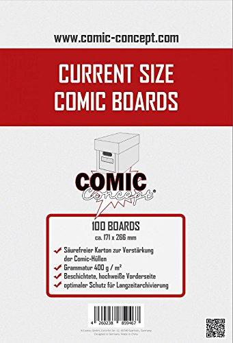 Unbekannt Comic Concept Comic Boards Current Size (100 Stück)