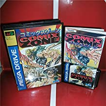 Value-Smart-Toys - Comix Zone NTSC-J Available Japan Cover with box and manual for Sega MegaDrive Genesis Video Game Console 16 bit MD card
