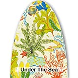 Premium Cover Fits Chappell Door Co Wall Mount Ironing Board (Under The Sea)