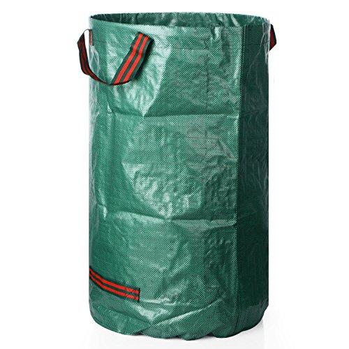 %30 OFF! 72Gallons Garden Bags, Gallon Reusable Garden Bags, Yard Leaf Lawn Grass Waste Trash Contai...