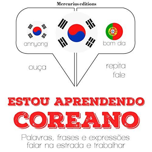 Estou aprendendo coreano audiobook cover art