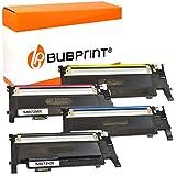 4 Bubprint Tóner Compatible con Samsung clx-3185 - Negro, clp-320