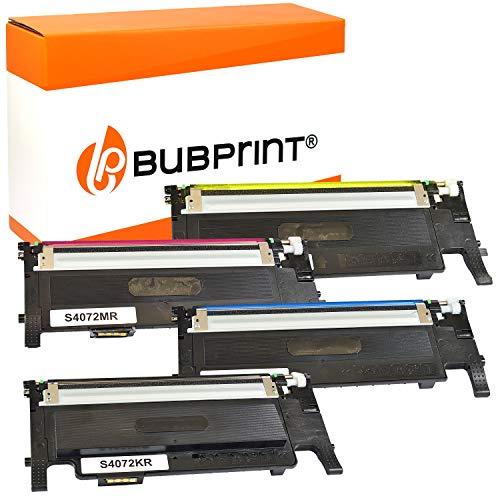 4 Bubprint Toner kompatibel für Samsung CLT-P4072C für CLP-320 CLP-320N CLP-325 CLP-325N CLP-325W CLX-3180 CLX-3185 CLX-3185FN CLX-3185FW CLX-3185N CLX-3185W