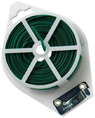 Bulk Hardware BH01222 Rouleau de câble pour plante avec cutter, 50 m