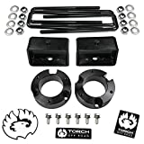 TORCH 3' Front 3' Rear Lift Kit for 2005-2021 Toyota Tacoma 4X2 RWD 2WD TRD SR5 - Models with 6 Lug Wheel Bolt Pattern ONLY