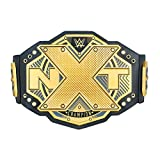 WWE Authentic Wear NXT Championship Toy Title Belt Gold