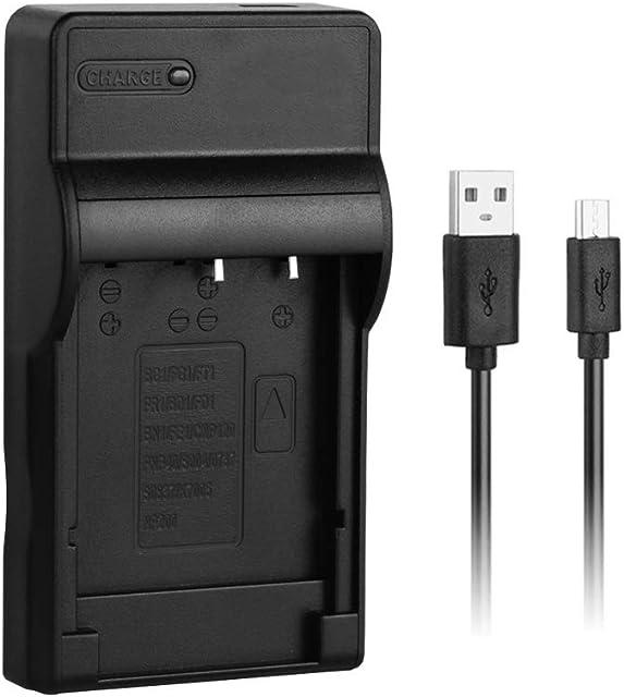 NP-BG1 Cargador rápido USB para batería de cámara Sony BG1 Cyber-Shot DSC-H7 H9 H50 H70 H90 HX5 HX9V HX10V W30 W80 W90 W100 W130 W220 W240 W270 W290 W300 WX1 N1 y más