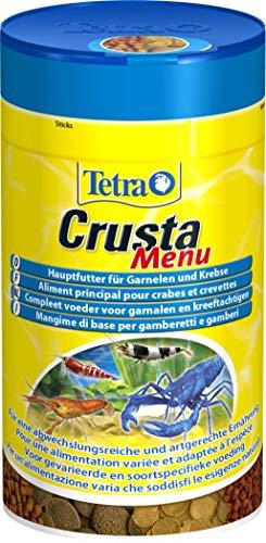 Tetra Crusta Menu (Hauptfutter für Garnelen, Krebse und Landkrabben, für eine artgerechte Ernährung, 100 ml)
